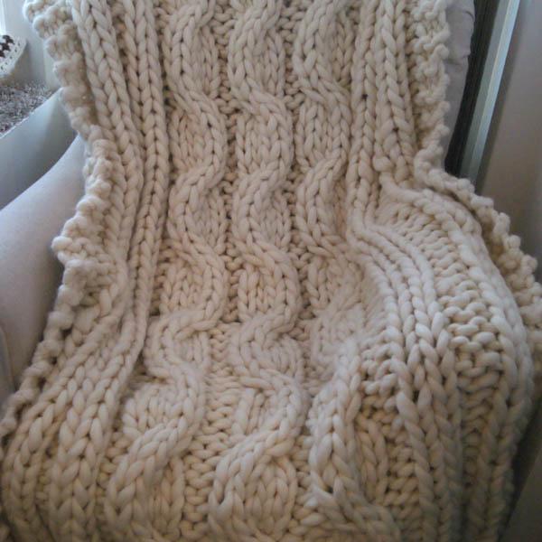 Mönster Bautapläd Chunky Wool