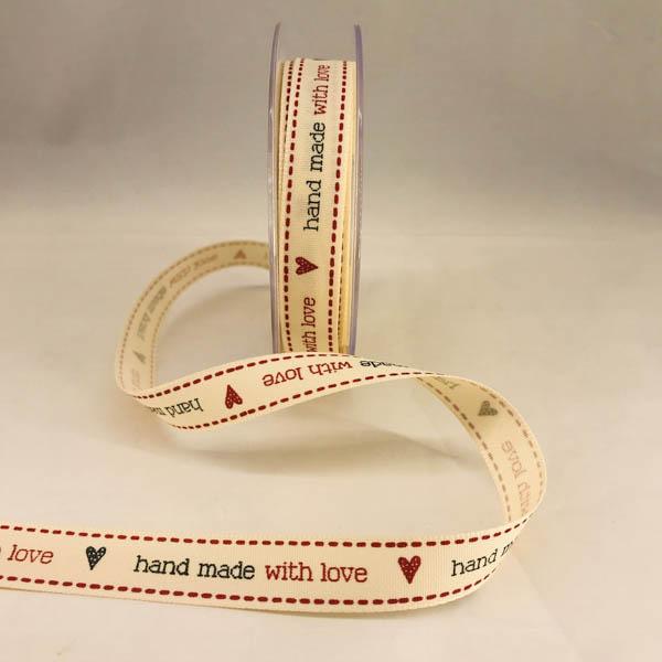 Dekorband Handmade with love