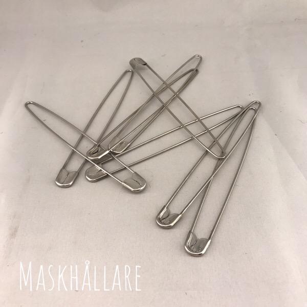 Maskhållare/avmaskningsnål blank 14cm
