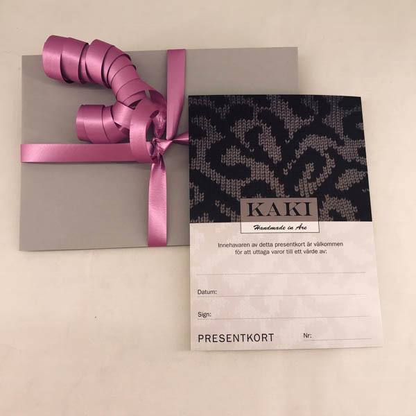 Presentkort Kaki Åre