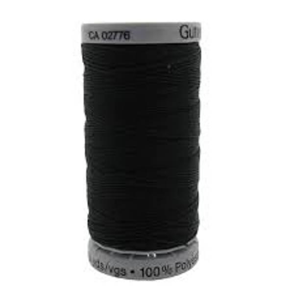 Sytråd extra stark 100m 000 svart