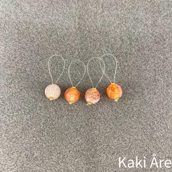 Maskmarkörer Kaki Design krackelerade