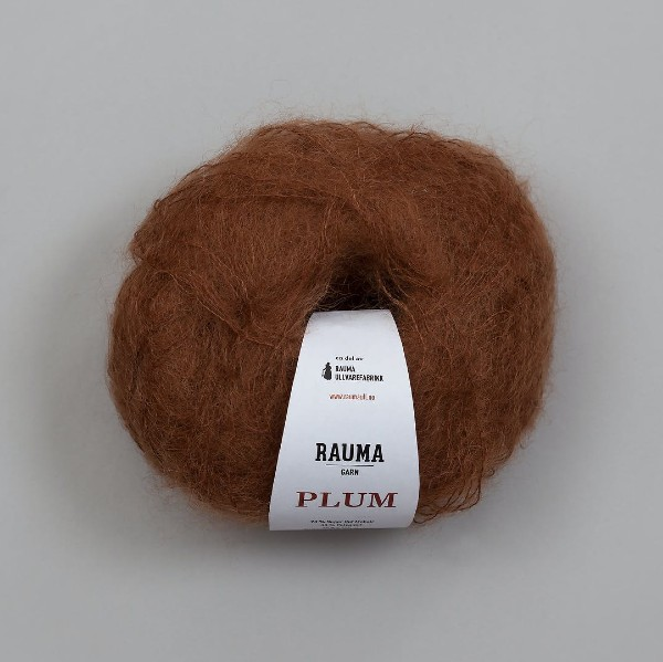 Rauma Plum 100 brun