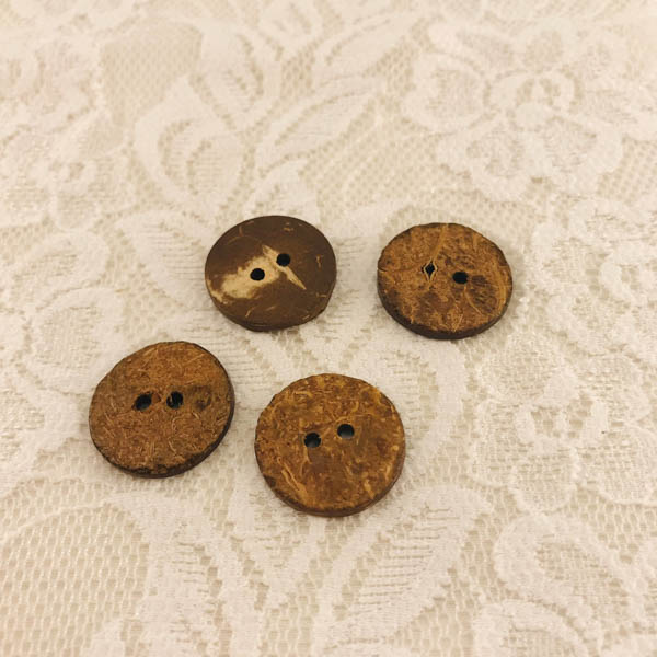 Knapp trä/kokos