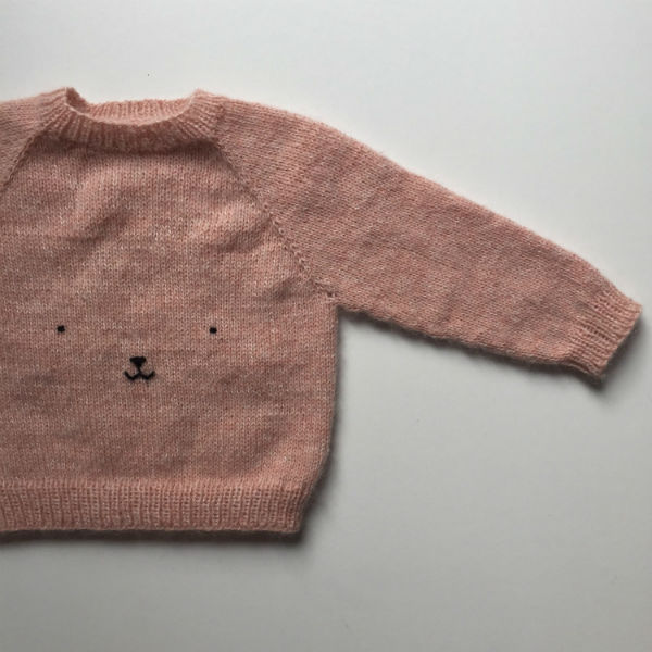 PetiteKnit Mönster Nalle Sweater