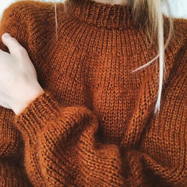 PetiteKnit Mönster Novis Sweater