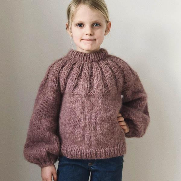 PetiteKnit Mönster Sunday Sweater Junior