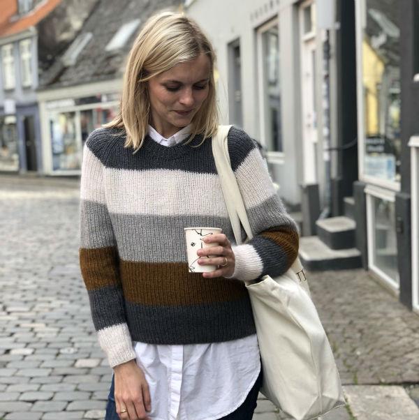 PetiteKnit Mönster Sekvens Sweater
