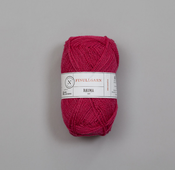 Rauma Finullgarn 0456 rosaröd