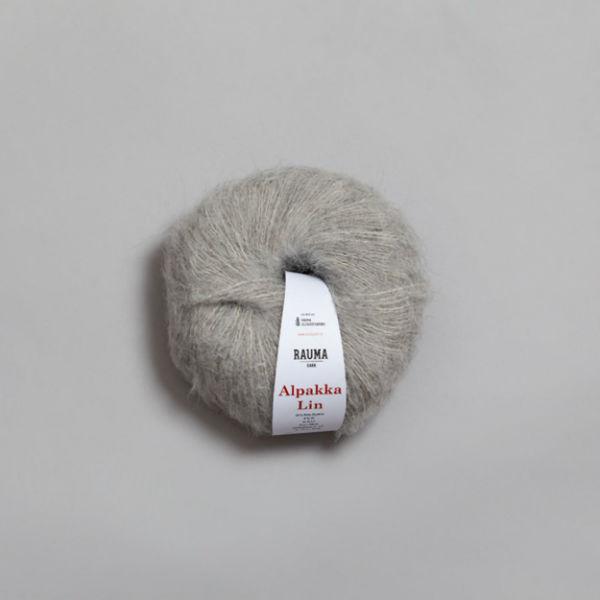 Alpakka Lin 1310 ljusgrå