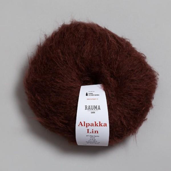 Alpakka Lin 2388 chokladbrun