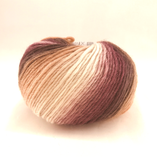 Incawool 1111 brun/rosa print