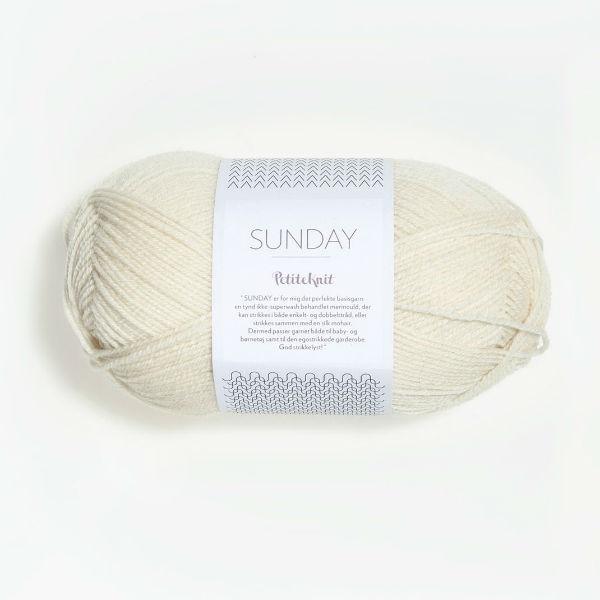Sunday PetiteKnit 1012 whipped cream