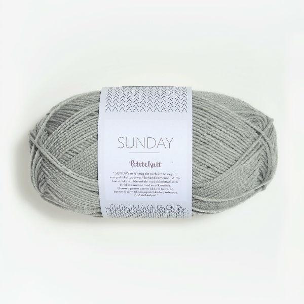 Sunday PetiteKnit 1031 foggy grey