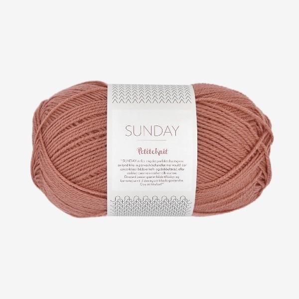 Sunday PetiteKnit 3553 dusty rouge
