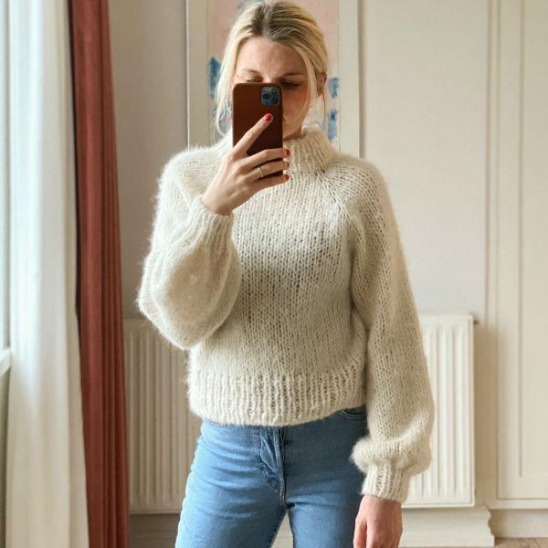 PetiteKnit Mönster Louisiana Sweater
