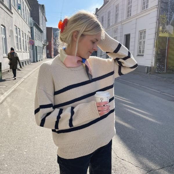 PetiteKnit Mönster Marseille Sweater