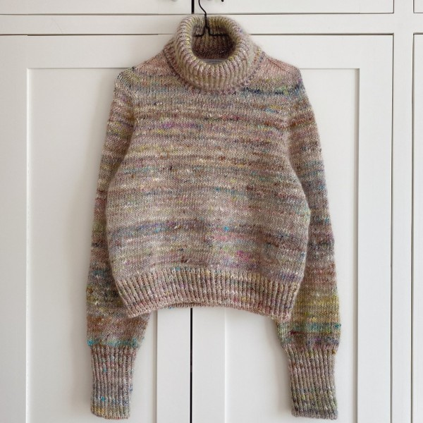 PetiteKnit Mönster Terrazzo Sweater