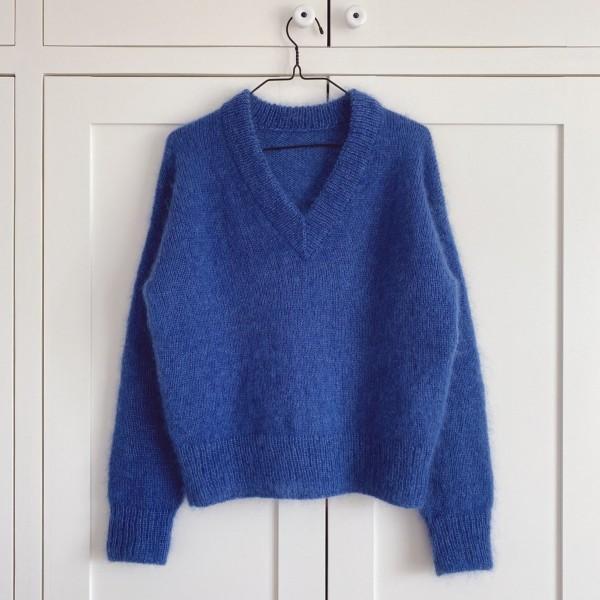 PetiteKnit Mönster Stockholm Sweater V-neck