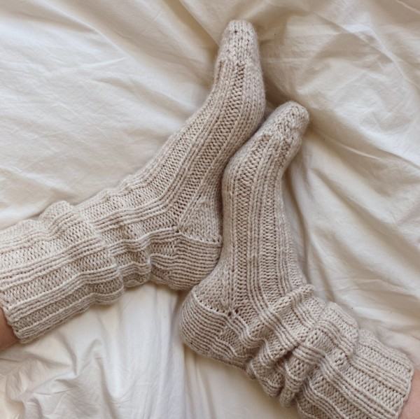 PetiteKnit Mönster Sunday Socks