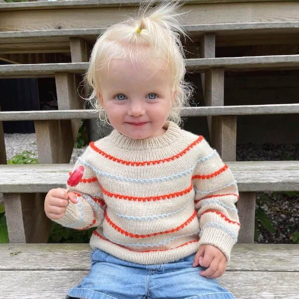 PetiteKnit Mönster Festival Sweater