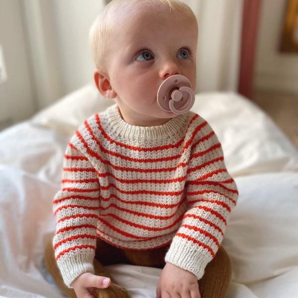 PetiteKnit Mönster Friday Sweater Baby