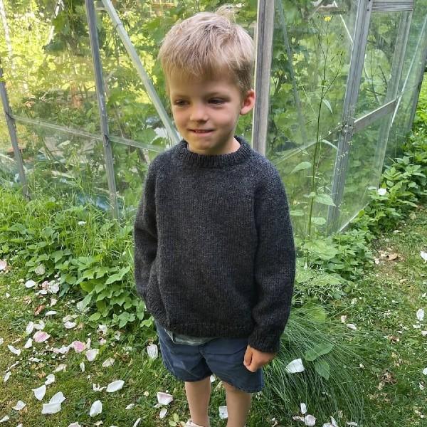 PetiteKnit Mönster Hanstholm Sweater junior