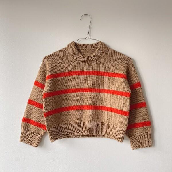 PetiteKnit Mönster Marseille Sweater Junior