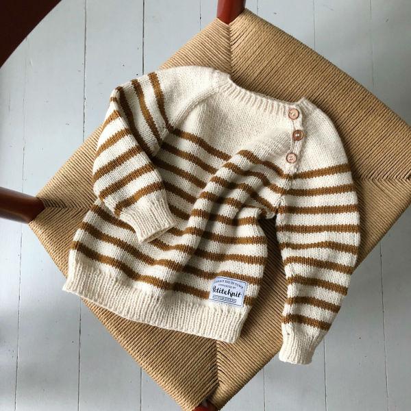 PetiteKnit Mönster Seaside Sweater
