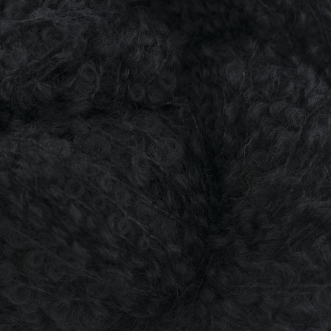 Kremke Alpaka Bouclé 0005 svart