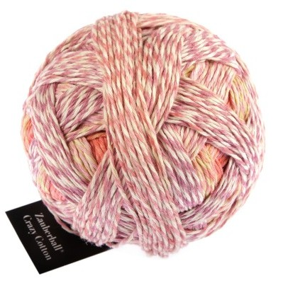 Zauberball Crazy Cotton 2441 First day of spring