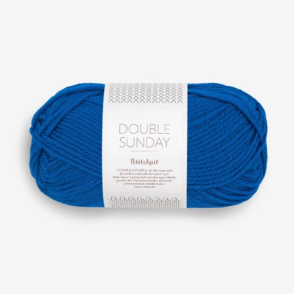 Double Sunday 6046 electric blue