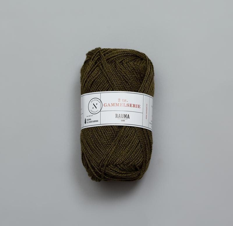 Rauma 2 tr Gammelserie 0476 mossgrön