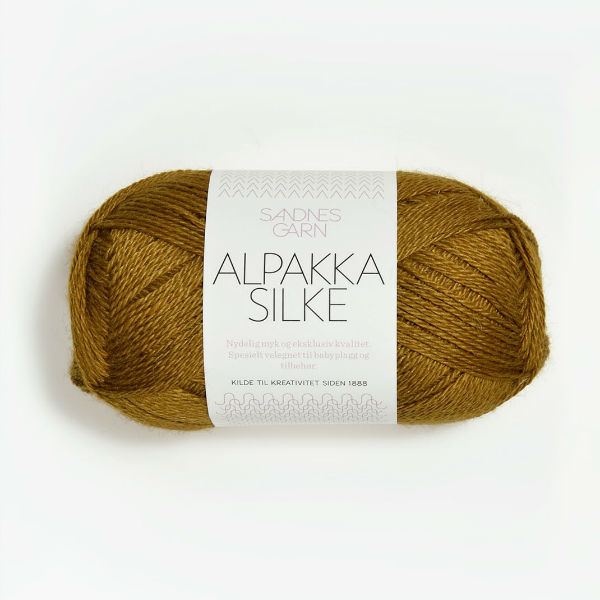 Alpakka Silke 2153 tapenade