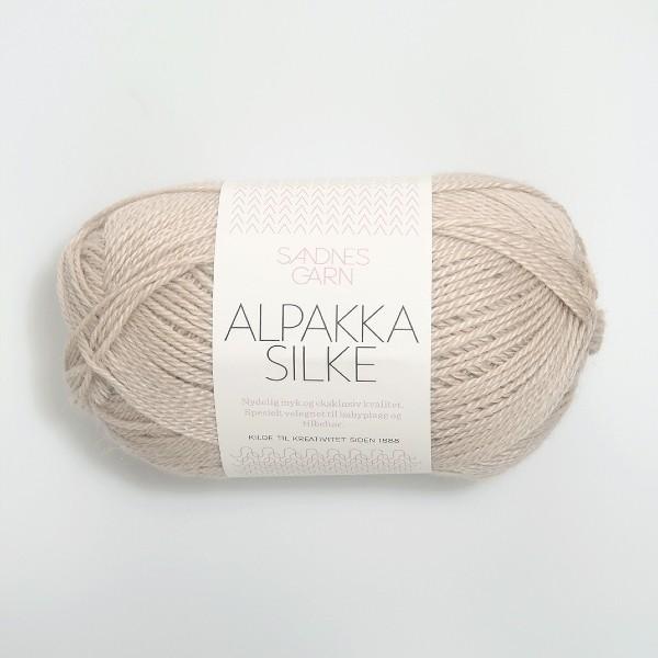 Alpakka Silke 2521 sand