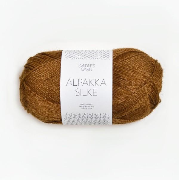 Alpakka Silke 2564 gyllenbrun