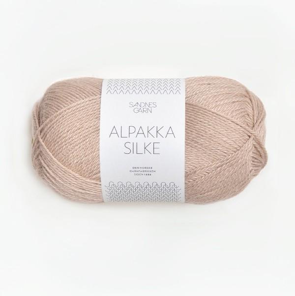 Alpakka Silke 3021 ljus beige