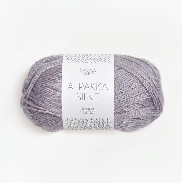 Alpakka Silke 4631 dammig lila