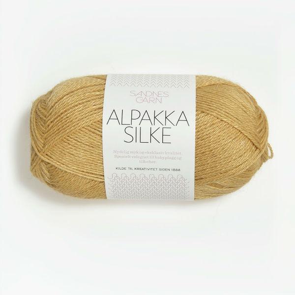 Alpakka Silke 2113 strågul