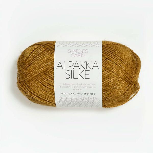 Alpakka Silke 2135 ockra