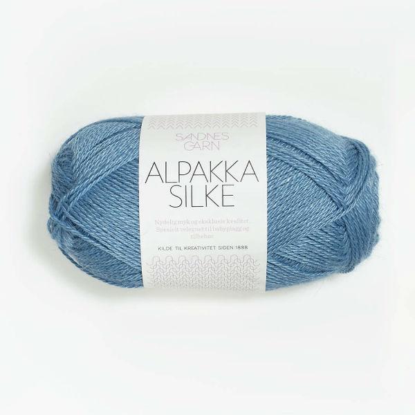 Alpakka Silke 6573 kornblomst