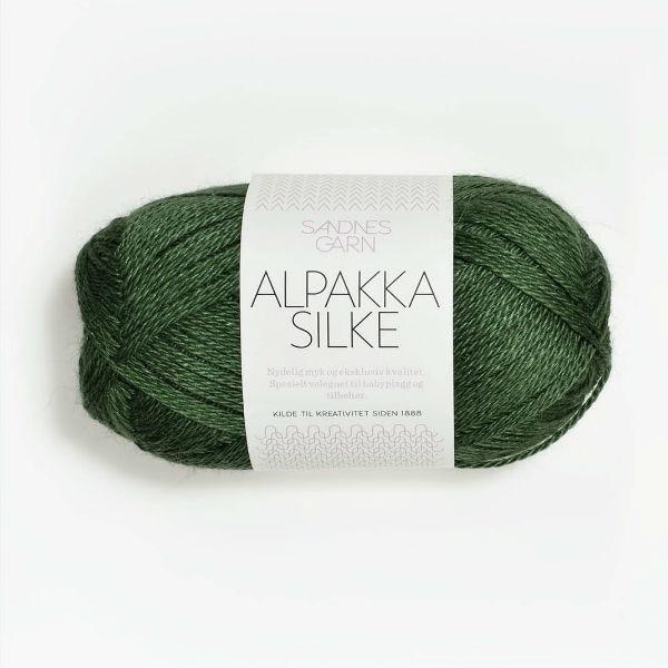 Alpakka Silke 8264 grön