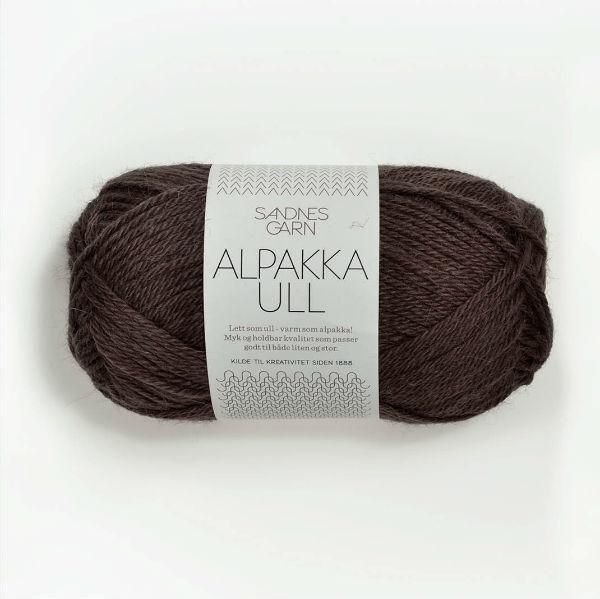 Alpakka Ull 3571 brun