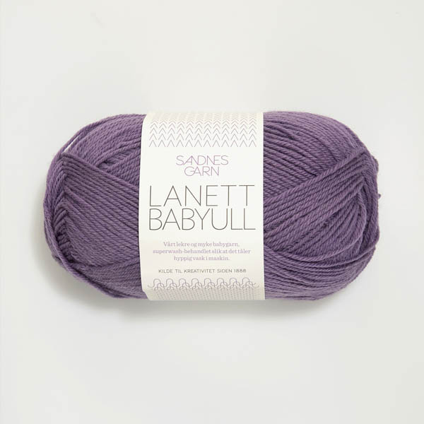 Babyull Lanett 5042 dammig lila