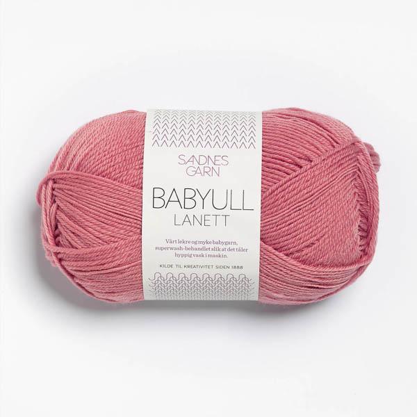 Babyull Lanett 4023 dammig gammelrosa