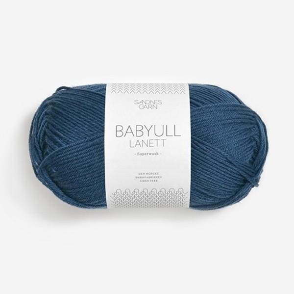Babyull Lanett 6062 mörkblå