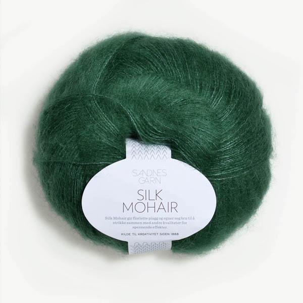 Silk Mohair 7755 smaragd