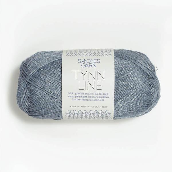 Tynn Line 6531 isblå