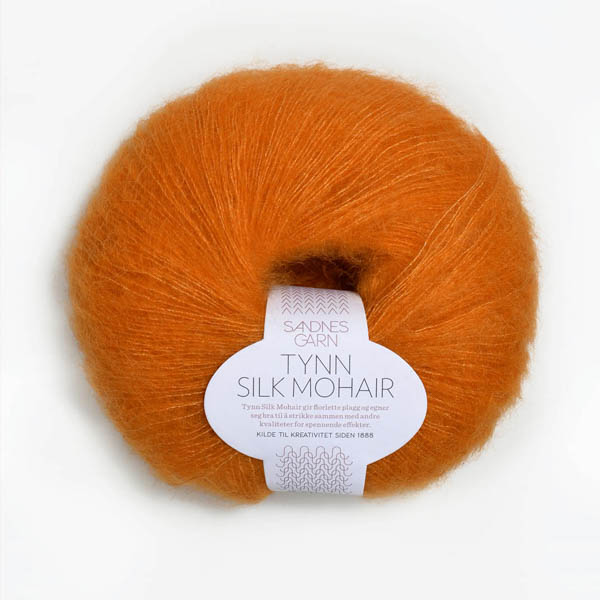 Tynn Silk Mohair 2727 orange