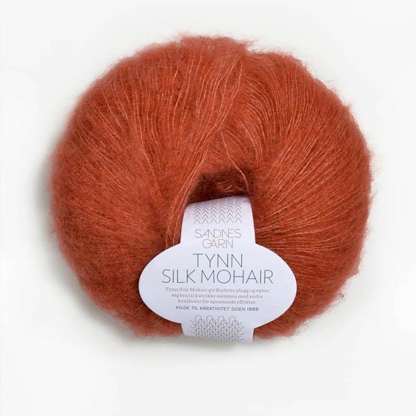 Tynn Silk Mohair 3835 ljus terrakotta